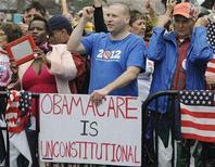 Movimento conservador Tea Party deve manter influência sobre questões fiscais em Washington. 24/03/2012 REUTERS/Jonathan Ernst