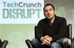 Google Venture's Kevin Rose speaks during a question and answer session at the Tech Crunch Disrupt conference in San Francisco, California, in this September 11, 2012, file photo. REUTERS/Beck Diefenbach/Files