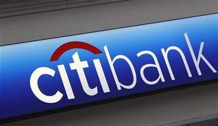 A Citibank sign on a bank branch in midtown Manhattan, New York, November 17, 2010. REUTERS/Mike Segar