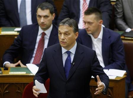 Hungary PM, lenders at odds about prospects of agreement