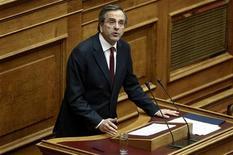 Il premier greco Antonis Samaras . REUTERS/Yorgos Karahalis