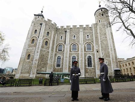 Tower of London intruder walks off with keys
