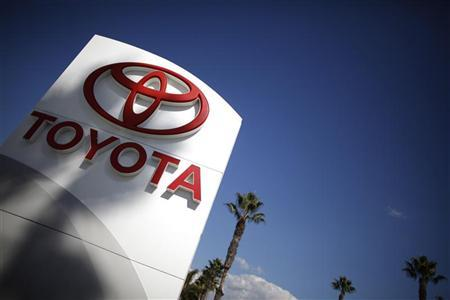 A Toyota dealership is seen in Los Angeles October 10, 2012. REUTERS/Lucy Nicholson