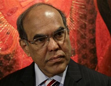 Duvvuri Subbarao, governor of the Reserve Bank of India speaks during an interview with Reuters at a hotel in Mexico City November 5, 2012. REUTERS/Henry Romero/Files