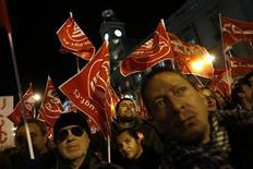 Manifestanti a Madrid. REUTERS/Susana Vera