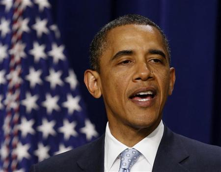 Obama says tax hike will have to come first in