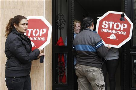 Spain suspends home evictions for most needy