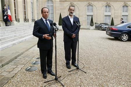 France eyes Middle East influence, image with Syria gamble