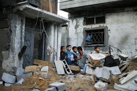 REUTERS/Suhaib Salem (GAZA - Tags: POLITICS CIVIL UNREST)