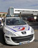 <p>Siège de la Brigade anti-criminalité (BAC) du nord de Marseille. Treize policiers de la brigade, qui avaient été suspendus en octobre dans une affaire présumée de corruption, ont été autorisés à reprendre le travail. /Photo d'archives/REUTERS/Jean-Paul Pélissier</p>