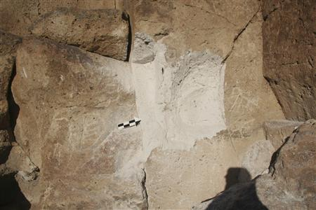 Ancient petroglyphs ripped from stone at California rock art site