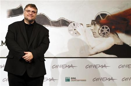 Producer Guillermo del Toro poses during a photocall for the movie ''Rise of the Guardians'' at the Rome Film Festival in Rome November 13, 2012. REUTERS/Alessandro Bianchi