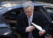 Primeiro-ministro de Luxemburgo Jean-Claude Juncker chega à sede do conselho da UE para reunião com líderes do bloco sobre o orçamento da organização. 22/11/2012 REUTERS/Francois Lenoir