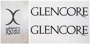 <p>La Commission européenne a comme prévu validé jeudi le rachat du groupe minier Xstrata par le géant du négoce Glencore, après l'engagement pris par celui-ci de ramener sous 40% sa part du marché européen du zinc. /Photo prise le 13 novembre 2012/REUTERS/Michael Buholzer</p>