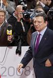 Il presidente della Commissione Ue José Manuel Barroso. REUTERS/Pascal Rossignol