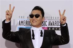 South Korean rapper Psy arrives at the 40th American Music Awards in Los Angeles, California, November 18, 2012. REUTERS/Jonathan Alcorn