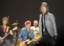 Rolling Stones apresentam-se na O2 Arena em Londres, Inglaterra. Os Rolling Stones voltaram no tempo em grande estilo ao realizarem, no domingo, seu primeiro show em cinco anos, revisitando os sucessos do meio século de trajetória artística da banda. 25/11/2012 REUTERS/Toby Melville