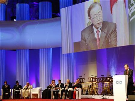 U.N. chief says crises show need for interfaith amity