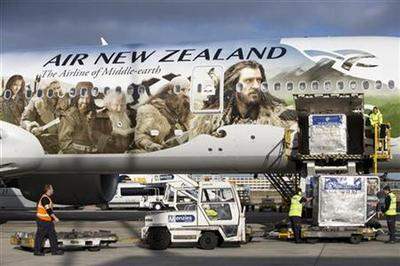 New Zealand becomes Middle Earth as Hobbit mania takes hold