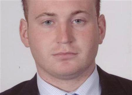 An undated photo shows Police Service of Northern Ireland Constable Ronan Kerr, 25, who was killed in a bomb attack outside his home in Omagh on April 2, 2011. REUTERS/Police Service of Northern Ireland/handout