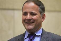 Membro do Conselho Executivo do BCE Benoit Coeure, em Paris, em novembro de 2011. O Banco Central Europeu (BCE) está pronto para comprar títulos soberanos de países da zona do euro que precisem de assistência e para concordar com programas de ajuste fiscal, afirmou Coeure. 25/11/2011 REUTERS/Charles Platiau