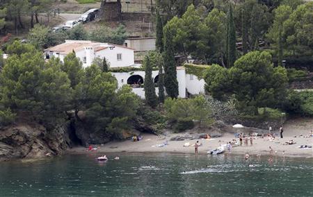 A general view of Cala Montjoi where El Bulli restaurant (C) was located at near Roses, July 30, 2011. REUTERS/Albert Gea
