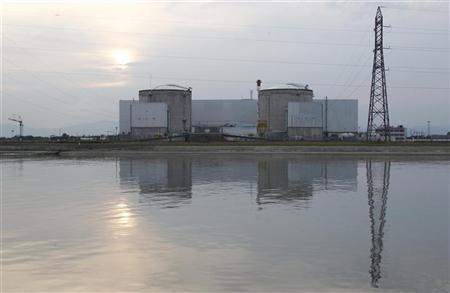 A general view shows France's oldest Electricite de France (EDF) nuclear power station, outside the eastern French village of Fessenheim, near Colmar, September 5, 2012. REUTERS/Vincent Kessler