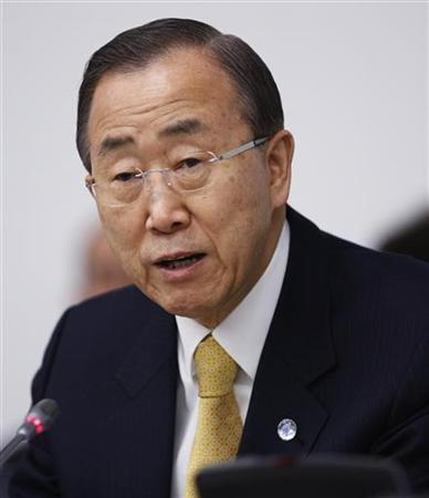 U.N. chief appeals for countries to take Iran dissidents