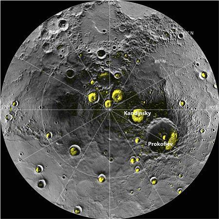 NASA probe reveals organics, ice on Mercury