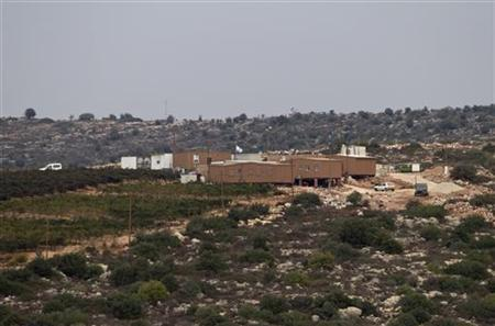 A view of prefabricated homes in a new unauthorised settler outpost is seen outside the settlement of Talmon, near the West Bank city of Ramallah October 31, 2012. REUTERS/Baz Ratner
