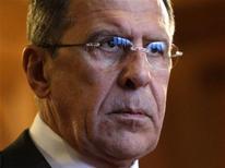 Il ministro degli Esteri russo Sergei Lavrov. REUTERS/Maxim Shemetov