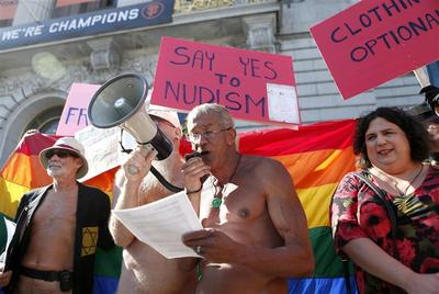 "San Francisco's ""No"" to nude"
