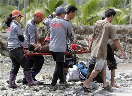 """Philippine shelters """"washed away"""" as typhoon..."""