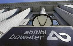 AbitibiBowater Inc.'s headquarters are seen in Montreal, May 15, 2009. REUTERS/Christinne Muschi