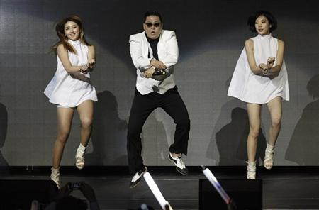 South Korean rapper Psy performs at KIIS FM's Jingle Ball concert in Los Angeles, California December 3, 2012. REUTERS/Mario Anzuoni