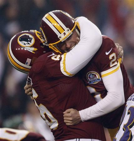Back-up QB Cousins leads Redskins to victory over Ravens