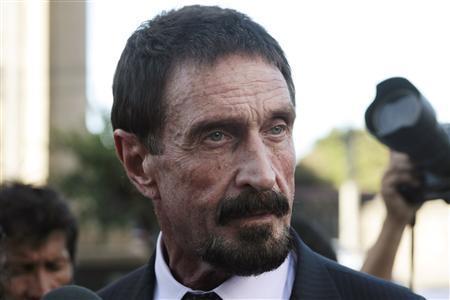 Tech guru McAfee's legal appeals win him respite in Guatemala