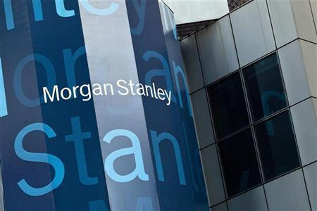 Morgan Stanley's New York headquarters are seen at the corner of 48th Street and Broadway in New York May 22, 2012. REUTERS/Andrew Burton