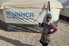 Número de refugiados da guerra civil na Síria ultrapassa meio milhão em países como Líbano, Jordânia, Iraque e Turquia. 07/12/2012. REUTERS/Muhammad Hamed