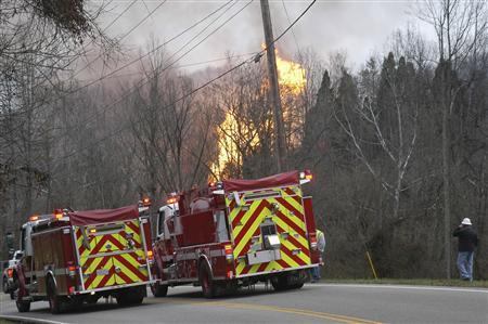 Nisource gas pipeline explodes near Charleston, West...