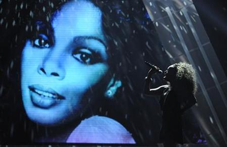 A segment in memoriam for Donna Summer is performed at the 2012 BET Awards in Los Angeles on July 1, 2012. REUTERS/Phil McCarten/Files