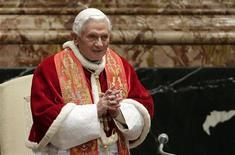 Papa Benedetto XVI. REUTERS/Tony Gentile