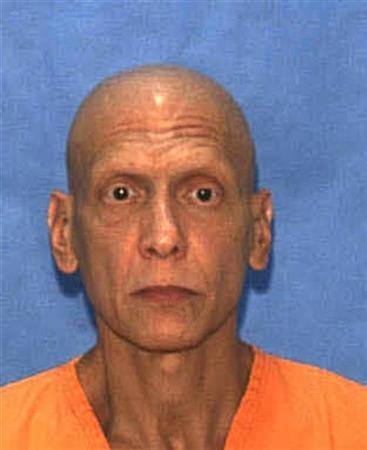 Convicted murderer Manuel Pardo, 56, is seen in this undated handout photo from the Florida Department of Corrections. REUTERS/Florida Department of Corrections/Handout