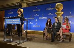 Indicados ao Globo de Ouro foram anunciados nesta quinta-feira em Beverly Hills, Califórnia. 13/12/2012 REUTERS/Phil McCarten