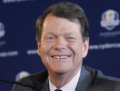 Watson named U.S. Ryder Cup captain for 2014