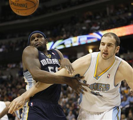 Nuggets tame Grizzlies on return to Denver
