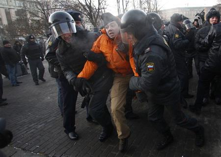 Russia opposition leaders held as protesters defy police