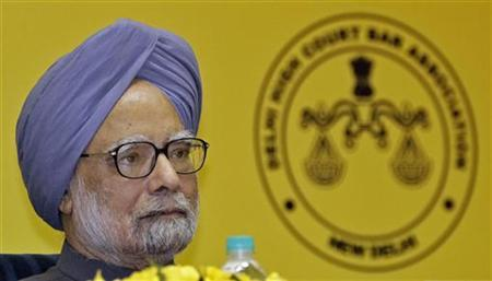 Prime Minister Manmohan Singh attends the inauguration ceremony of the International Academic Conference 2012 themed ''Economic Growth and Changes of Corporate Environment in Asia'' in New Delhi September 22, 2012. REUTERS/B Mathur/Files