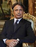 Il presidente dell'Abi Giuseppe Mussari. REUTERS/Tony Gentile