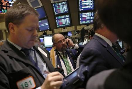 Wall St edges up at open on